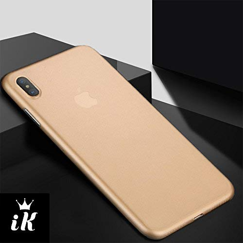 Iphone Xs Max Case Thinnest Iphone Xs Max Case Ultra Thin Light Iphone Skin Protective Only 033mm Apple Iphone Xs Max Ikaracase Gold