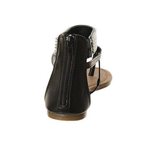 Sandale De Gladiateur De Promesse De Femmes En Bambou