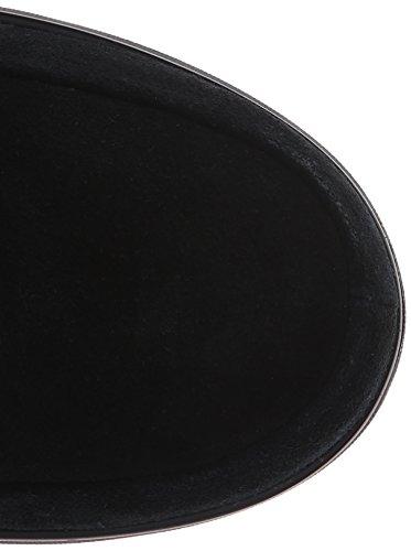 Fitflop FitflopLoaff Slouchy Knee - Botas de Invierno forradas de Media Caña Para Mujer negro - negro