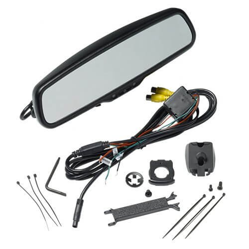 Audiovox RVM200PKG / RVM200 RVM200PKG 4.3 Display Replacement Rear-View Mirror