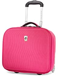 Atlantic Luggage Debut Rolling Tote, Pink, One Size