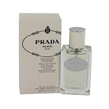 Amazon.com   PRADA INFUSION D HOMME by Prada EDT SPRAY 1.7 OZ ... 0daaf04bab4