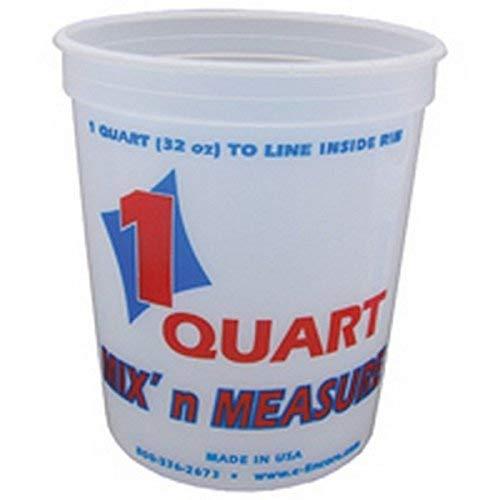 Mix N Measure Container - Encore LT41032 1 Quart Mix' N Measure Container