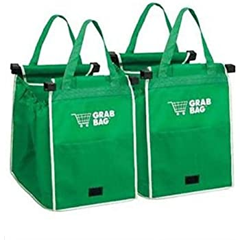 Amazon.com: Grab Bag Shopping Bag (Pkg Of 2): Kitchen & Dining