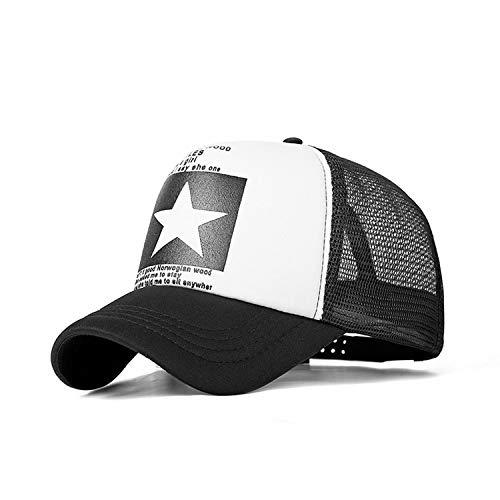 野球帽女性屋外野球帽通気性の男性の女性サマーメッシュキャップ野球帽キャップ,C