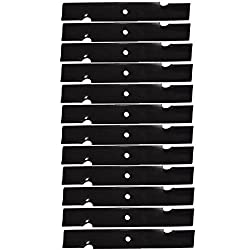12PK Oregon 91-620 Lawn Mower Blades for Scag 32&q