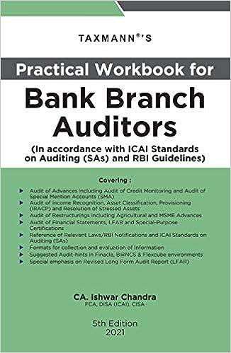 Bank Branch Auditors