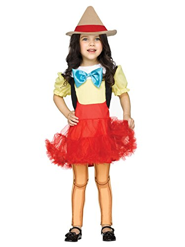 Toddler Costumes Pizza (Pinocchio Girl Doll Toddler Costume)