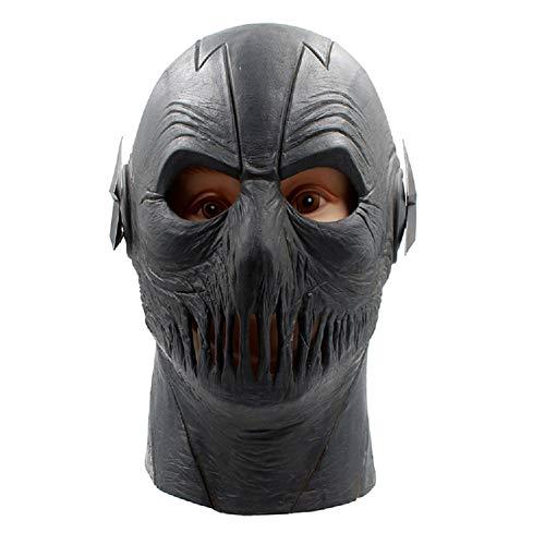 BEELEAR The Flash Season 2 Black Zoom Overhead Latex TV Series Movie Mask