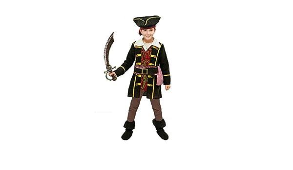 Disfraz Capitán Pirata niño Infantil para Carnaval (7-9 años ...