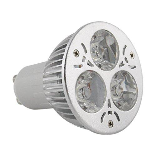 US Seller 400Lm MR16/GU10 LED Spotlight Lamp Bulb 12V 3W/4W Diammable Warm White - Wiki Aviator