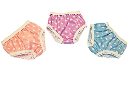 Brittany's My 3 Pairs of Star Underwear Compatible with American Girl Dolls- 18 Inch Doll Clothes