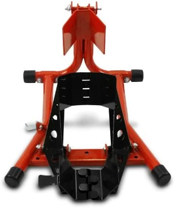 ConStands Blocca Ruota Cavalletto Moto anteriore Easy Red