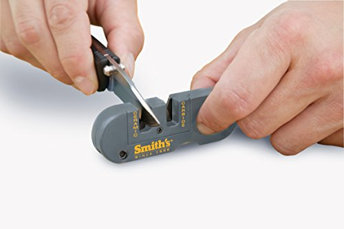 415xhO7xaCL - Smith's PP1 Pocket Pal Multifunction Sharpener, Grey