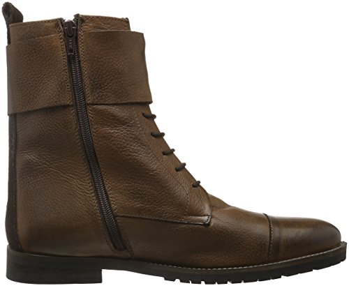 Bianco Warm Buckle Boot Son16, Botines para Hombre Marrón