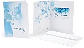 Amazon.com $50 Gift Card in a MYHABIT Greeting Card (Frosty Holiday Card Design) (B005OEF52K) | Amazon price tracker / tracking, Amazon price history charts, Amazon price watches, Amazon price drop alerts
