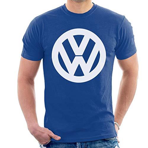 Volkswagen Classic White VW Logo Men's T-Shirt (Vw Logo Tshirt)