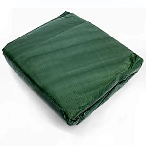 Funda mesa jard n redonda verde 320 x 95 cm for Funda piscina redonda