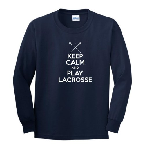Keep Lacrosse Youth Sleeve T Shirt