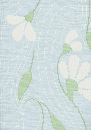 papel de parede bobinex classique flores azul
