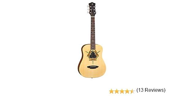 Luna Guitars SAF DF NET - Guitarra clásica, tamaño 3/4: Amazon.es ...