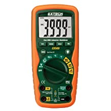 Extech EX505 CAT IV-600V True RMS Industrial Multi-Meter with Waterproof IP67 Rugged Design for Heavy Duty Use