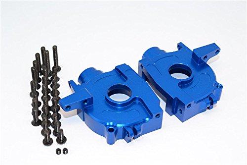 GPM Axial Yeti (AX90026) & Yeti Score (AX90050) Upgrade Parts Aluminum Front Bulkhead - 1 Set Blue ()