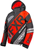 3 16 shock cord hook - FXR CX Youth Snow Jacket Black/Nuke Red/Charcoal 16 USA