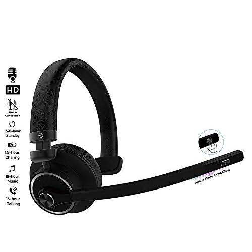 Bh M3 Bluetooth Headset Long Boom Mic Tiendamia Com