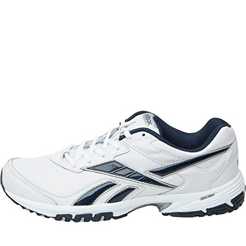 588f6040613 Reebok Mens Neche DMX Ride Training Shoes White Navy Silver.UK 6 EU 39   Amazon.co.uk  Shoes   Bags
