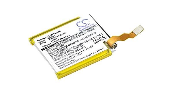 Batería de Repuesto para Sony SmartWatch 3 SWR50 GB-S10 GB ...