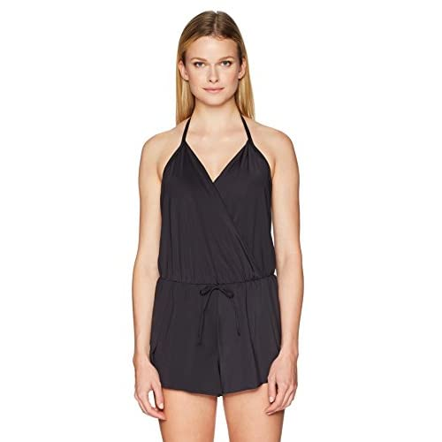 e826408177a94 Kenneth Cole REACTION Women s Ready to Ruffle Romper One Piece Swimsuit hot  sale
