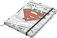 Caderneta de Anotação Dc Superman Logo Urban Amarelo Papel