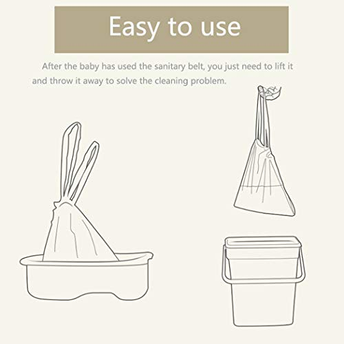 50Pcs Disposable Travel Potty Liners Portable Training Toilet Seat Bin Bags UK!