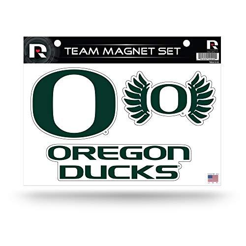 Rico Industries NCAA Oregon Ducks Die Cut Team Magnet Set Sheet ()