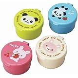 Panda Hase Mini Soßen Behälter für Bento Box Lunch Box