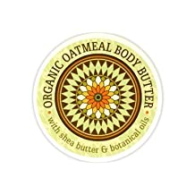 Greenwich Bay Body Butter Enriched with Shea Butter and Cocoa Butter, Moisturizing and Fast Absorbing (Set of 2) (Organic Oatmeal) 8 OZ each by Greenwich Bay Trading Company