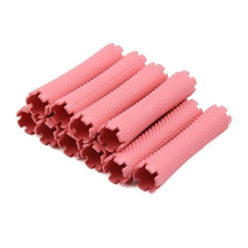 Amazon.com: Rodillo eDealMax 10pcs Mujeres rosadas plástica ...