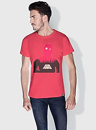 Creo Star Wars Movie Posters T-Shirts For Men - S, Pink