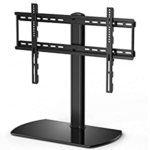 FITUEYES Universal Swivel Table Pedestal TV Stand – Good but needs time to build.