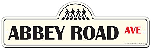 Abbey Road Street Sign | Indoor/Outdoor | Funny Home, used for sale  Delivered anywhere in Canada