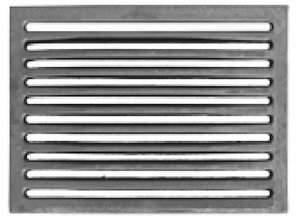 Grille pour cheminée charbon Grille Grille Grille de cendres cheminée 24x 19cm FONDERIA
