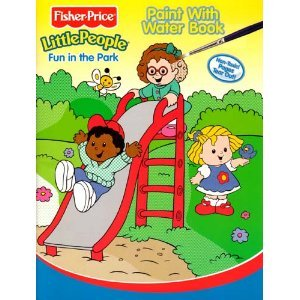 Fisher-Price Little People Paint with Water Book - Fun In the Park