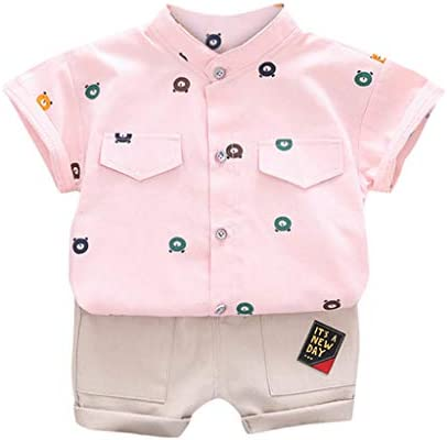 BAYBEIKSS Baby Boy Gentleman Jumpsuit Romper Short Sleeve Cotton Summer Outfit Infant Polo Bodysuit
