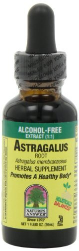 Nature's Answer Liquid Herbal Extracts Astragalus Root Alcohol-Free Singles 1 fl. oz. - 3PC