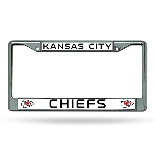 Kansas City Chiefs Chrome Frame