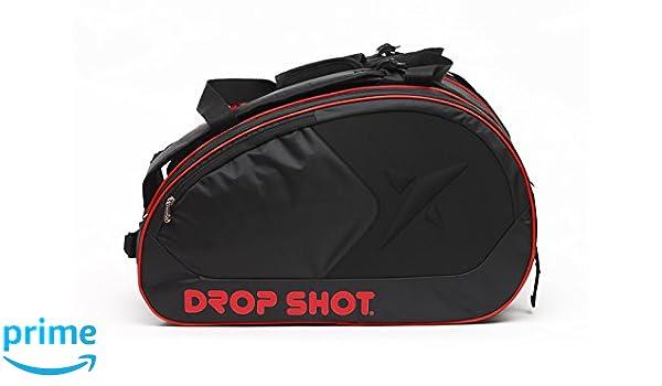 DROP SHOT Elga Paletero de pádel, Unisex Adulto, Negro, M: Amazon ...