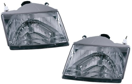 Mazda Pickup Replacement Headlight Assembly - 1-Pair