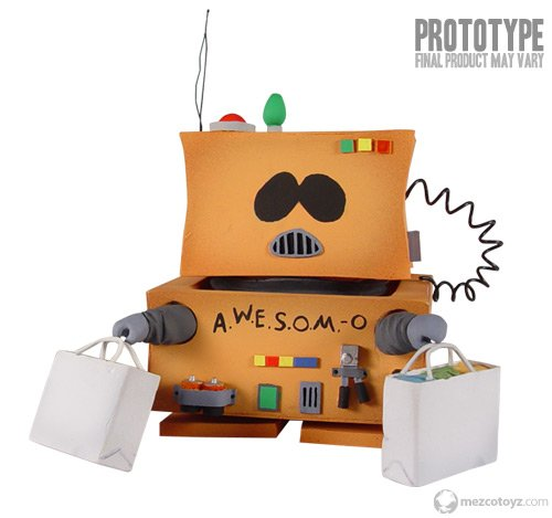 South Park Series 4 Action Figure AWESOM-O for sale  Delivered anywhere in USA