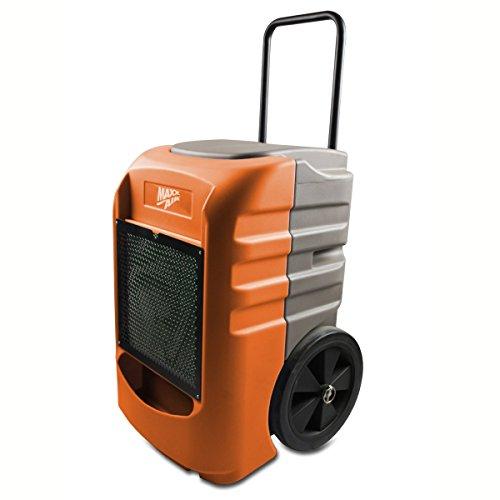 MaxxAir DH 075 ORG Rotational Molded Portable Commercial Dehumidifier, Orange